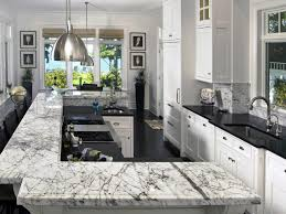 10 high end kitchen countertop choices white marble breakfast