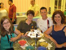 Kitchen Sink Ice Cream Disney World : Beach Club Resort in the Disney Boardwalk area, serves this iconic ice cream treat in a kitchen sink to the delight of all that witness and partake of