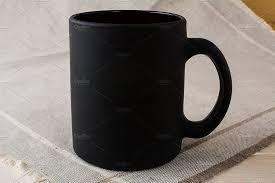 black coffee mug mockup product mockups creative market