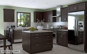 Dark Kitchen Cabinets With Backsplash Dark Kitchen Floors And Dark Kitchen Cabinets Comfortable Home Design