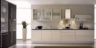 Kitchen Cabinet Ideas With Glass Doors For A Sparkling Modern Home - Kitchen cabinet with glass doors