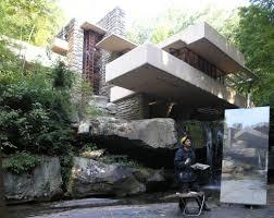 felix de la concha u0027s fallingwater en perspectiva concept art gallery