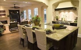 Kitchen Living Room Open Floor Plan Paint Colors Decorating An Open Plan Kitchen And Living Room U2013 Kitchen Ideas