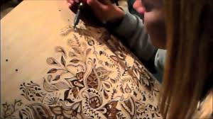 Wood Burning Art Patterns Free by Drum Designs Woodburning Youtube