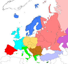 Map Of Western Europe by File Regions Of Europe Based On Cia World Factbook Png Wikimedia