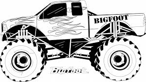 Old Ford Truck Coloring Pages - grave digger truck coloring pages coloring pages