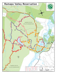 New York County Map by Trail Improvements In The Works At Ramapo Valley County