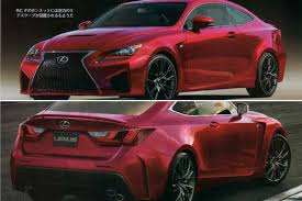lexus sports car manual transmission rc f gets rendered u2013 should it look like this