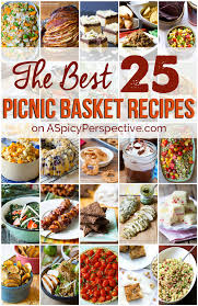 Thanksgiving Picnic Ideas The Best Picnic Recipes A Spicy Perspective