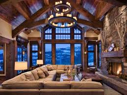 Decorating Country Homes Gorgeous Homes In Alpine Chalet Style Country Home Decorating Ideas
