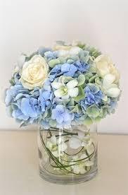 Table Flower Arrangements Best 25 Blue Flower Centerpieces Ideas On Pinterest Blue