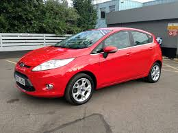ford fiesta 1 4tdci zetec 5dr 70ps s5 dpf in red 2012 for sale at