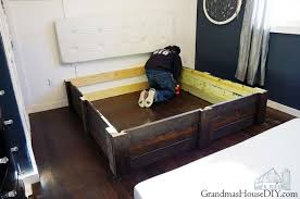 Build Diy Platform Bed by Build Your Own Platform Bed Frame Diy Grandmas House Diy