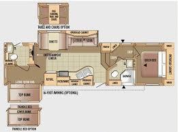 Jayco Camper Trailer Floor Plans 5th Wheel Rv 2 Bathrooms Floor Plans Jayco Eagle 30 5dbsa