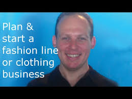 How to write a business plan for a clothing line  amp  start a fashion     YouTube