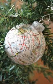 decoupaged ball ornament tutorial