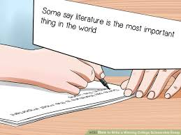Image titled Write a Winning College Scholarship Essay Step   wikiHow
