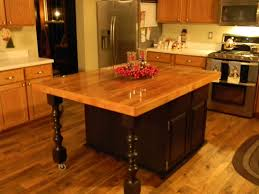 Wooden Kitchen Island Table Hand Crafted Rustic Barn Wood Kitchen Island By Black Swamp
