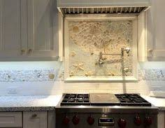 Kitchen Backsplash Mural Stone by Coastal Kitchen Backsplash Ideas With Tiles From Beach Murals To