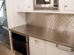 kitchen stainless steel kitchen backsplash panels ideas mod
