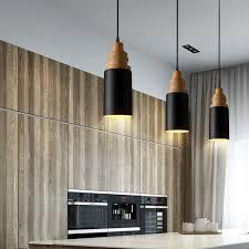 Black Pendant Light by Mstar Vintage Industrial Pendant Light Black Metal And Wooden