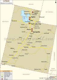 Map Of Utah And Colorado by List Of Museums In Utah Utah Museum Map