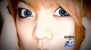 halloween contact lenses makeup could lead to infection abc7 com