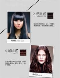 Shampoo For Black Colored Hair 10bags Box 2016 Fashion Crazy Coloured Hair Dye Fast Black Hair