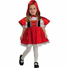 Walmart Halloween Costumes Girls Red Riding Hood Toddler Halloween Costume Walmart