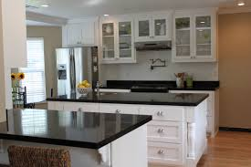 granite countertop raw wood kitchen cabinets lowes backsplash