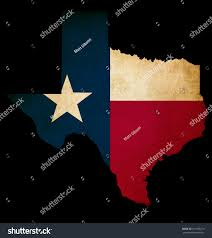 Texas Map Outline Usa American Texas State Map Outline Stock Illustration 101188219