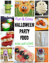 Halloween Birthday Food Ideas by Fun And Easy Halloween Party Food Fspdt