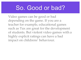 The Debate on Video Games  The Good  Bad  amp  Family Dynamics   GameRaven The Video Game Debate  Unravelling the Physical  Social  and Psychological Effects of Video