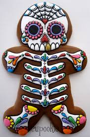 day of the dead gingerbread man things that make me smile