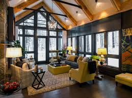 view living room vaulted ceilings decorating ideas home decor