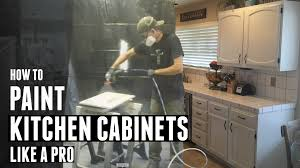 How To Paint Kitchen Cabinets Video How To Paint Kitchen Cabinets Like A Pro Youtube