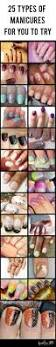 25 types of manicures for you to try