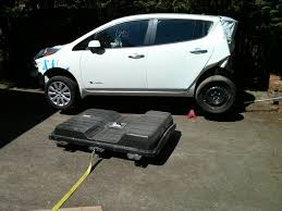 nissan leaf used car shade tree mechanic removing a nissan leaf battery pack without an