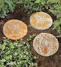 Etched Slate Garden Stepping Stones - traditional - outdoor decor ...