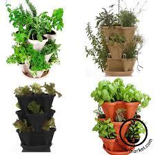 amazoncom garden stacker planter indooroutdoor culinary herb what