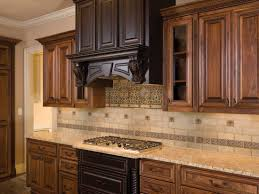 hood design color of lighter cabinets drawers under stove top kitchen kitchen colors schemes with modern wooden kitchen hood and ceramic backsplash tile design lovely kitchen colors schemes ideas added with