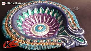 Diwali Decoration In Home Diy How To Decorate Diwali Diya Diwali Home Decoration Ideas