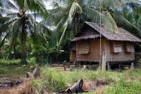 nipa hut stilt house kalibo evacuation community centre