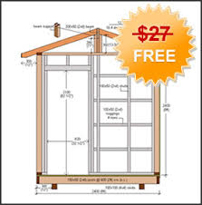Free Saltbox Wood Shed Plans by Shed Plans Free Shed Plans Blueprints U0026 Woodworking Designs