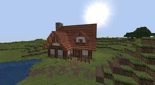 Small House Build How To Build Little Minecraft Houses Small House Minecraft Eahzu