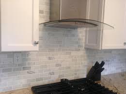 Kitchen Marble Backsplash Love This Asian Statuary 2x4 Backsplash Interiordesign Decor