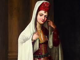 Portrait of a Safavid noblewoman   Aga Khan Museum Collection AKM