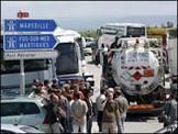 Caminhoneiros entram em greve na Espanha