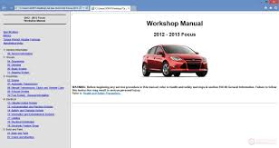 ford focus 2013 workshop repair manual auto repair manual forum