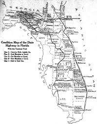 Map Of Lakeland Florida by The Dixie Highway Comes To Florida The Florida Memory Blog
